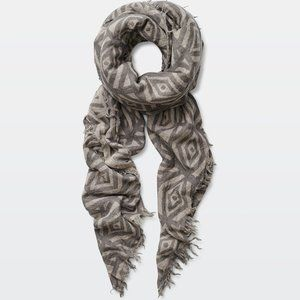 ✨ Wilfred Pop Art Blanket Scarf (Yellow/Tan)
